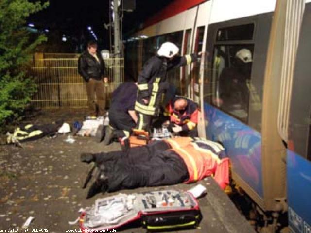 41 jähriger von Zug überrollt