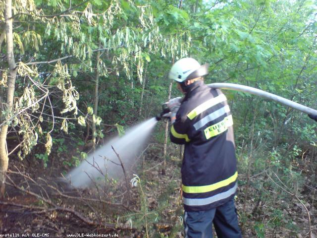 Feuerwehr rückte gleich 2 mal aus