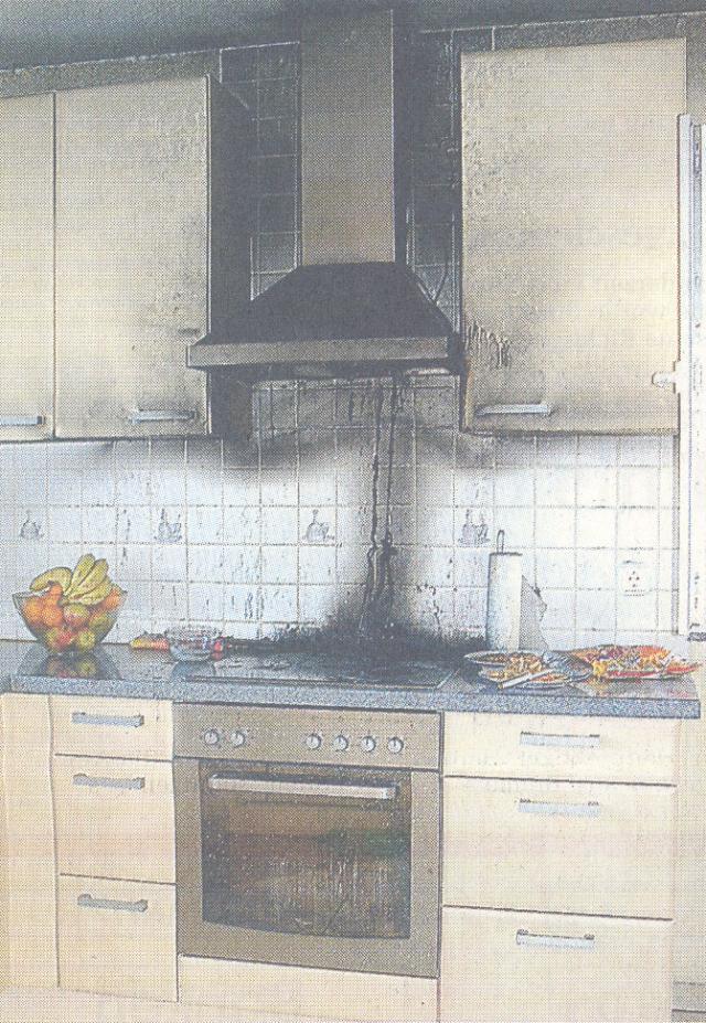 Fettbrand hinterlässt Sachschaden