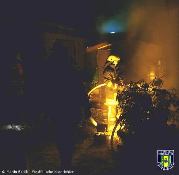 Kaminholz & Zimmerbrand innerhalb einer Nacht
