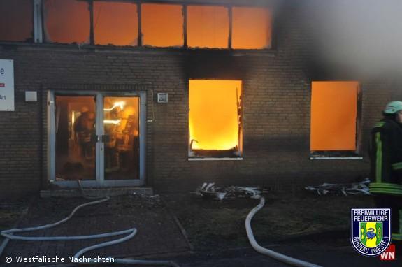 Wieder ein Brand auf dem Germania-Gelände / Technisch-elektrische Brandursache