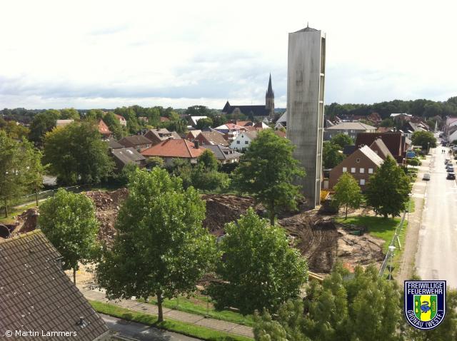 Glockenturm von St. Antonius Epe wurde gesprengt