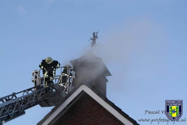 Kaminbrand in Losser (Niederlande)