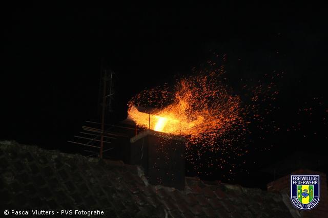 Kaminbrand in der Masurenstraße