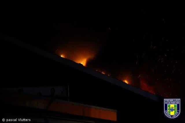 Großbrand in Losser ( NL)