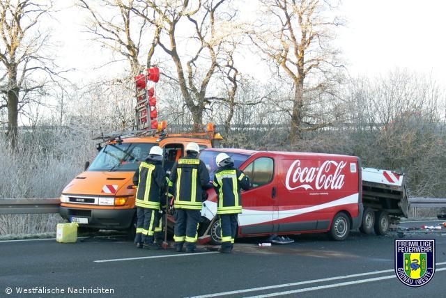 Verkehrsunfall B 54
