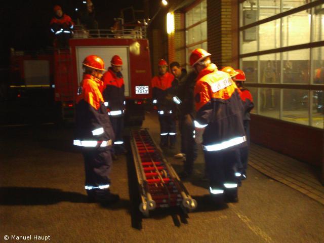 Bockleiter Feuerwehr