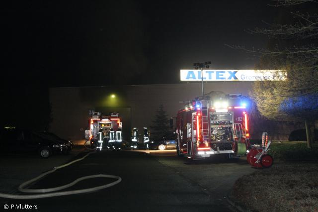 Maschinenbrand verursacht hohen Sachschaden