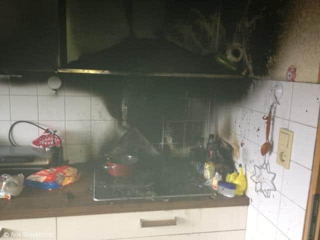 Küchenbrand am Alten Postweg