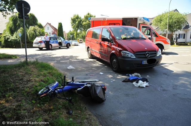 Mofafahrer bei Unfall schwer verletzt