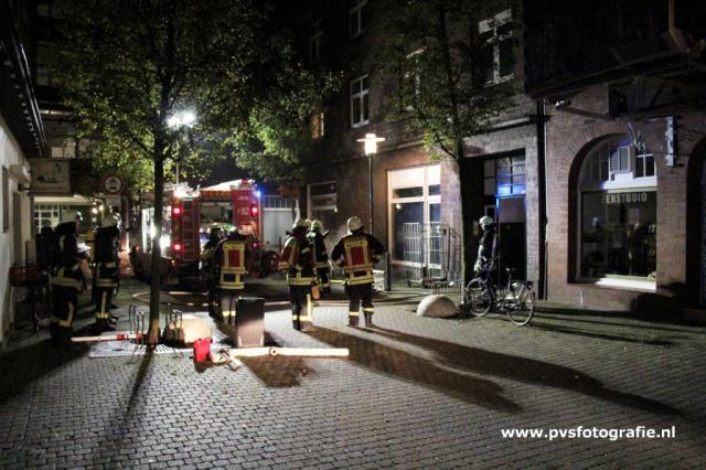 Kellerbrand in der Poststraße