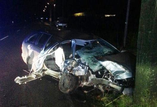 Leicht verletzt nach schwerem Verkehrsunfall auf Eper Straße
