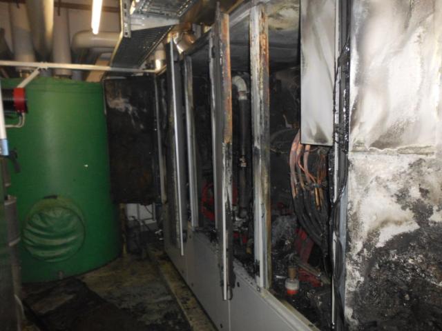Blockheizkraftwerk in der Bahnhofstraße brannte