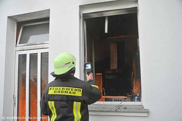 Küchenbrand macht Wohnhaus unbewohnbar