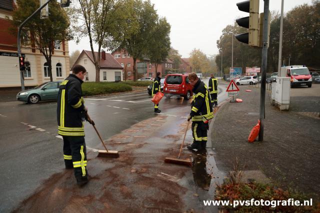 Mehrere Ölspuren in Gronau und Epe beschäftigten die Feuerwehr