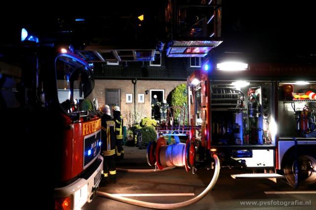 Person erlitt nach Wohnungsbrand Rauchgasvergiftung