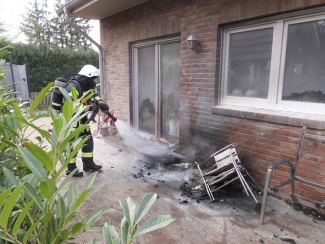 Terrassenbrand am Grüner Weg