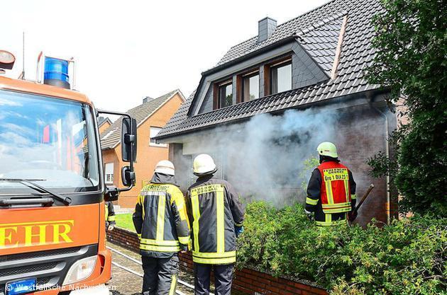 Wohnungsbrand am Hohen Weg