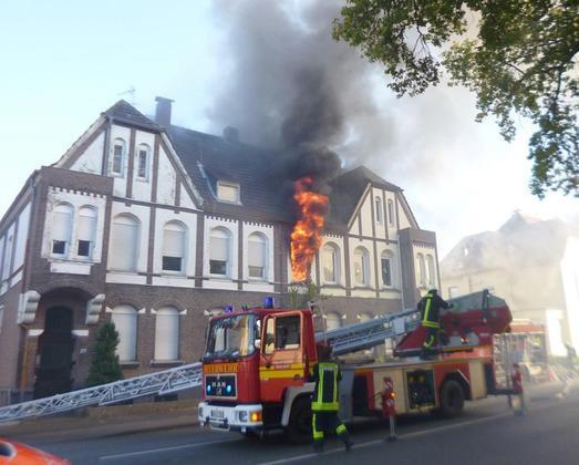 Wohnungsbrand an der Eper Straße 23