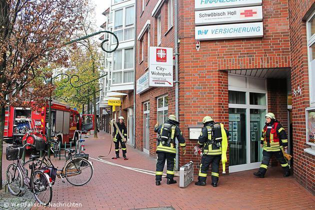 Rauchmelder löste am Freitag, dem 13.11.15 aus