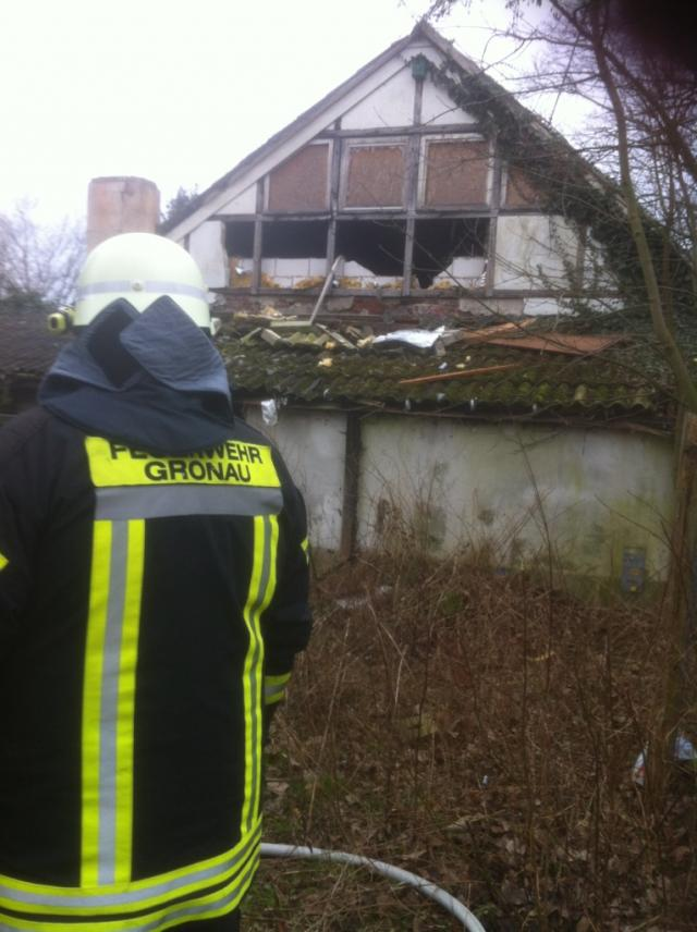 Wiederholt Feuer in leerstehendem Gebäude