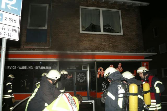 Hoher Schaden bei Brand in Fahrradgeschäft an der Gildehauser Straße