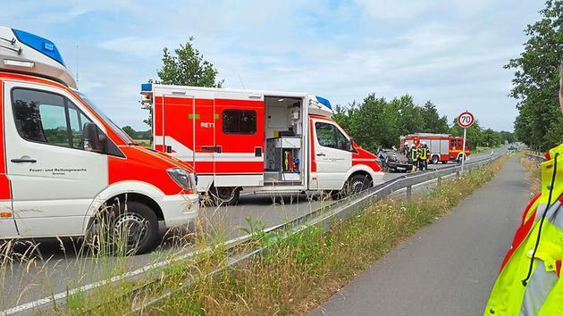 Verkehrsunfall auf dem Amtsvennweg