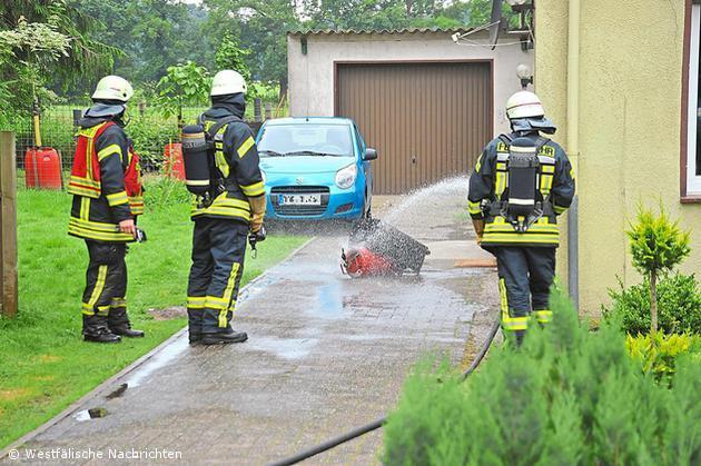 Katalytofen brannte in einem Haus an der Buterlandstraße
