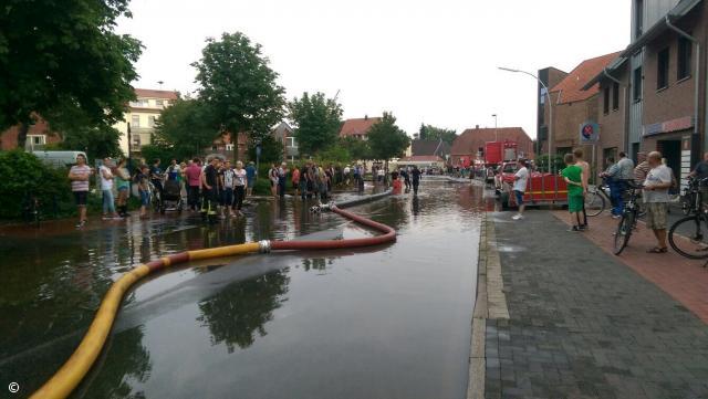 Feuerwehr Gronau unterstützte den südlichen Kreis Borken beim Unwetter