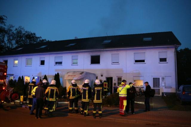 Küchenbrand auf der Losserstraße