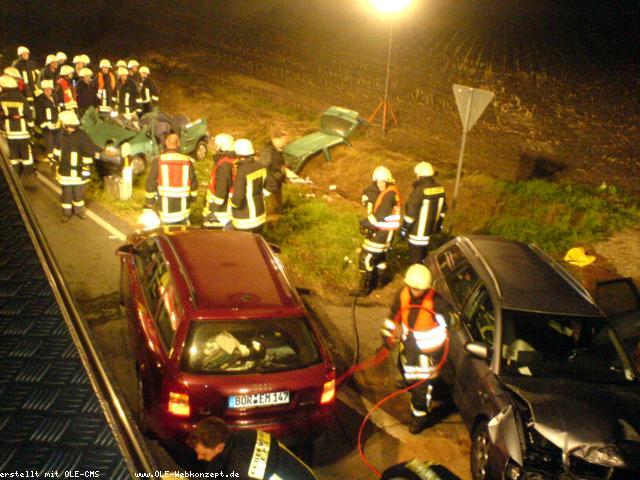 Schwerer Verkehrsunfall am Heidehof