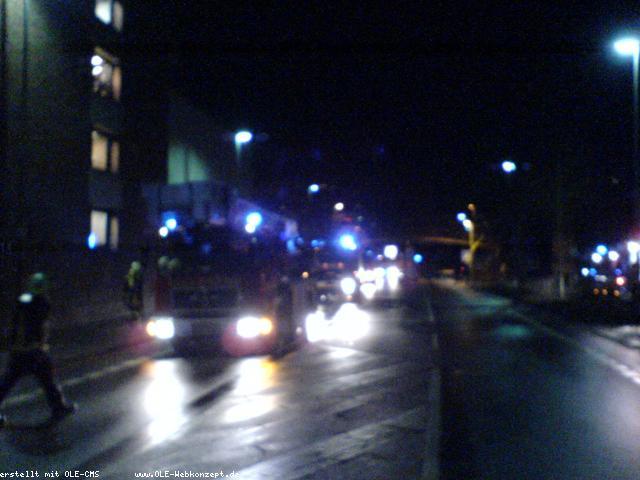 Brand bei Karstadt