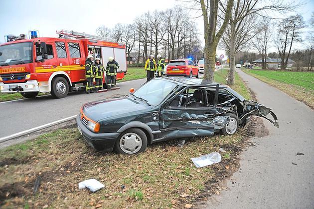Zwei Verletzte bei Unfall auf der Steinfurter Straße