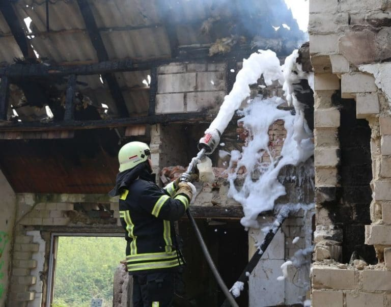 Leerstehendes Haus an der Enscheder Straße brannte zum X – ten Mal