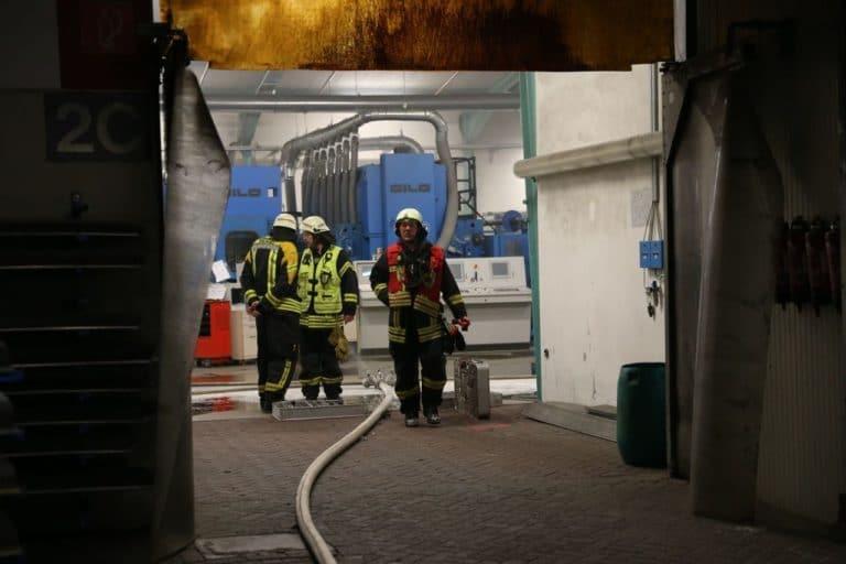 Ausgelöste Brandmeldeanlage und Personenrettung beschäftigten die Feuerwehr