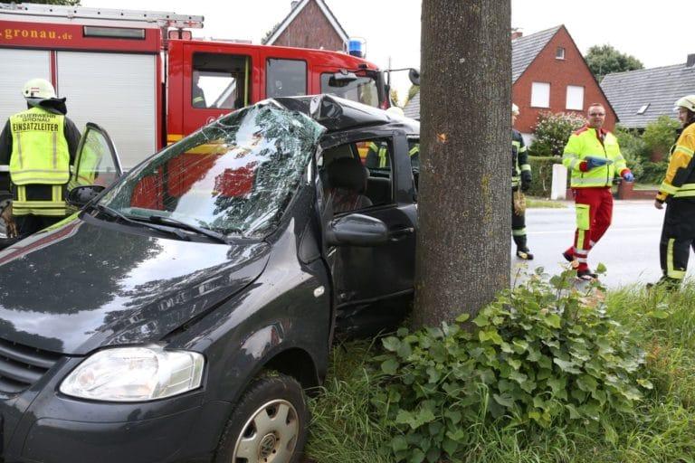 Zwei Verletzte nach Verkehrsunfall auf Gronauer Straße