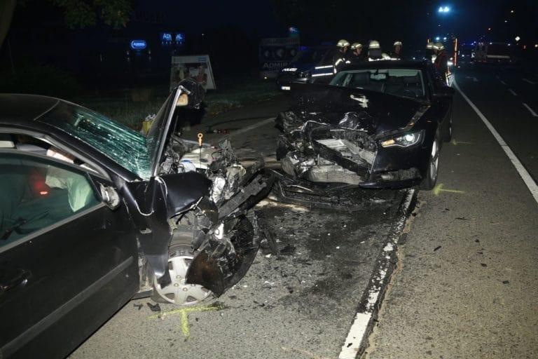 Verkehrsunfall mit 4 Verletzten auf der Ochtruper Straße
