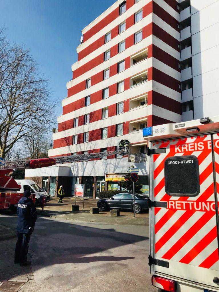 """Feuerwehreinsatz """"Der Klassiker"""" -Essen auf dem Herd –"""
