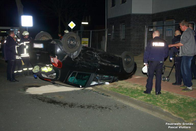 Zwei Verletzte bei Verkehrsunfall Füchter Straße / Am Buddenbrook