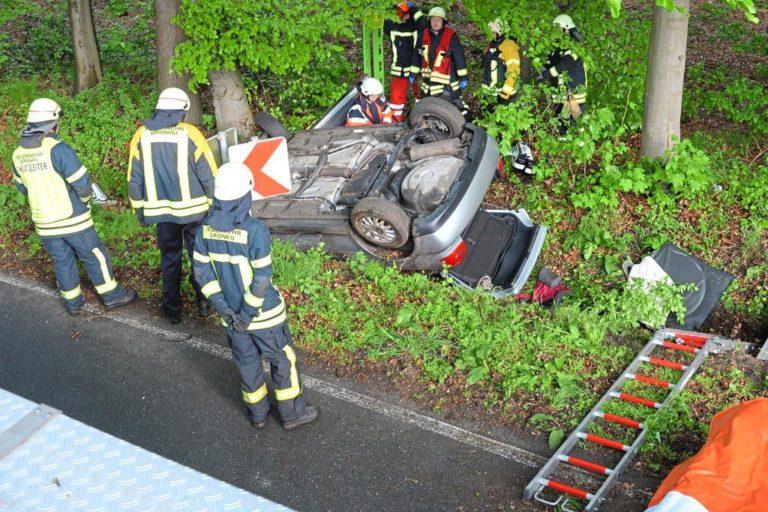 Verkehrsunfall auf der Vennstraße mit einer verletzten Person