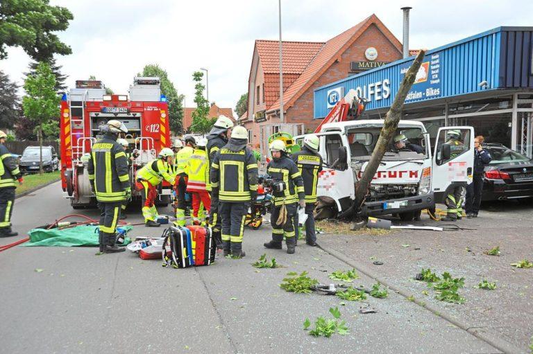 Verkehrsunfall auf der Nienborger Straße