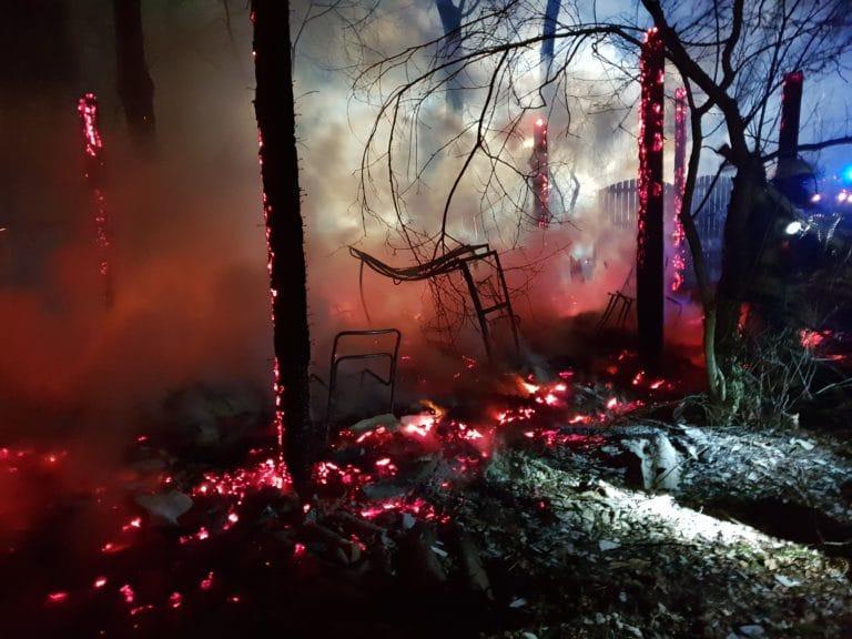 Jagdhütte im Kottiger Hook brannte nieder
