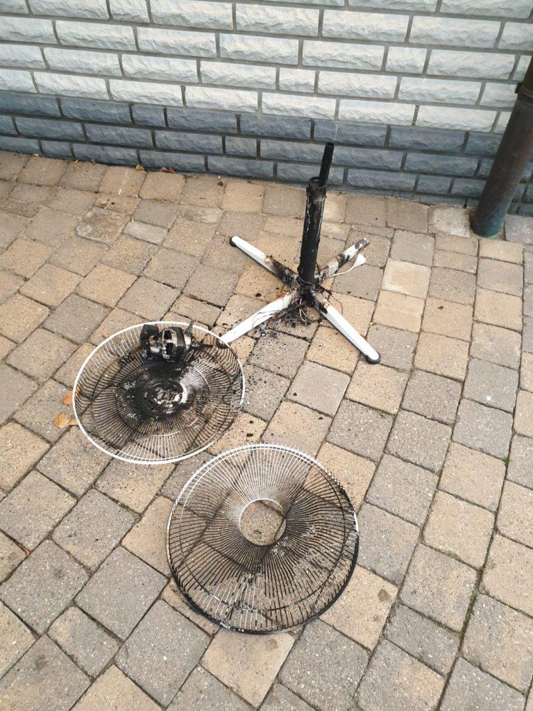 Verdächtiger Rauch war dann Wohnungsbrand