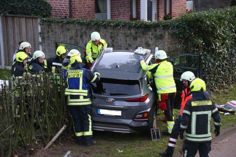 Verkehrsunfall auf der Buterlandstraße
