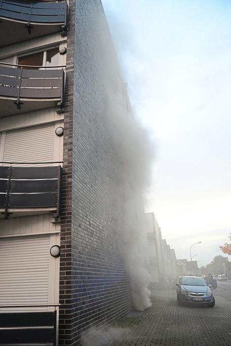 Kellerbrand an der Zollstraße