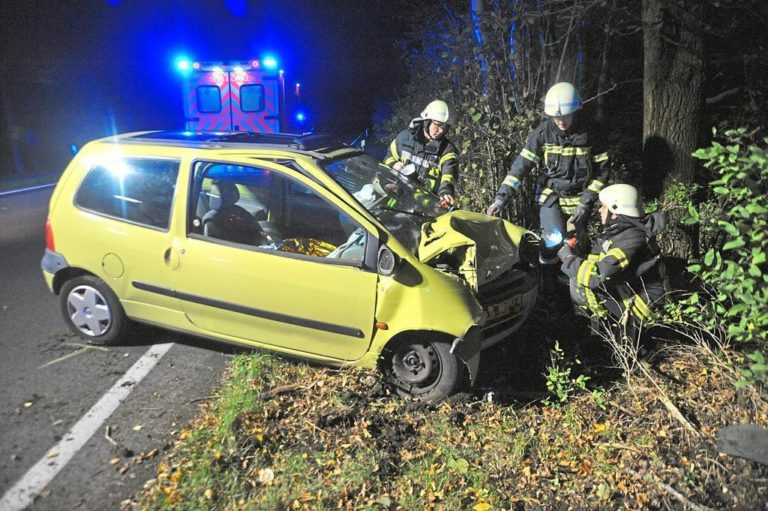 45 jähriger bei Unfall auf Baumwollstraße schwer verletzt