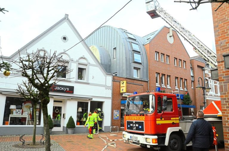 Feuerwehr in Epe im Einsatz