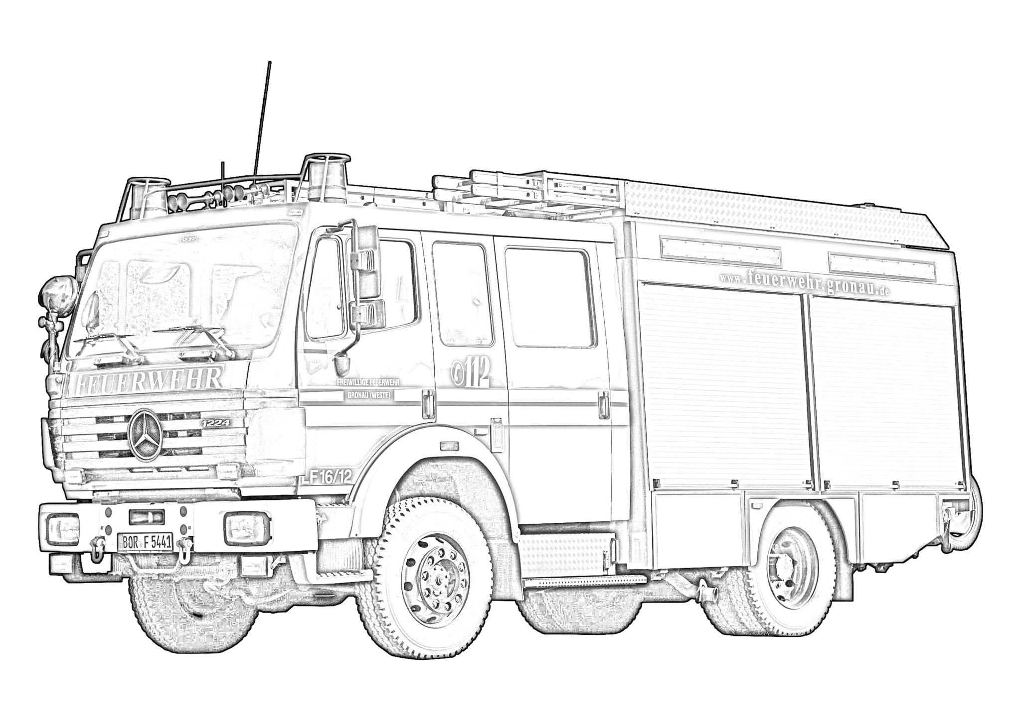 FeuerwehrAusmalChallenge – Feuerwehr Gronau