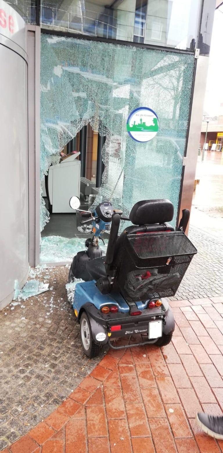 Verkehrsunfall der ungewöhnlichen Art