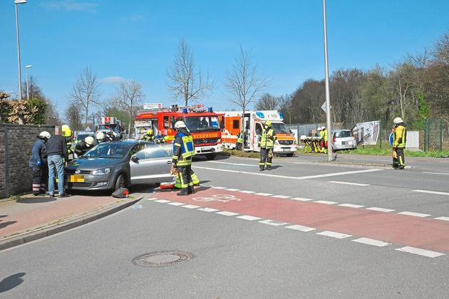 Verkehrsunfall auf der Gronauer Straße